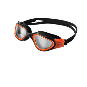 Zone3 Vapour Lunettes de natation Polarized, photochromatic lens-black/hi-vis orange